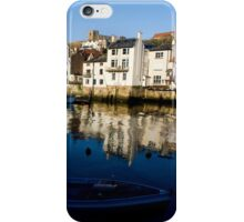 Whitby Harbour North Yorkshire iPhone Case/Skin