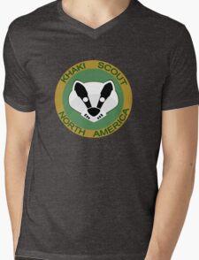Join the KSNA - Badger Badge Mens V-Neck T-Shirt