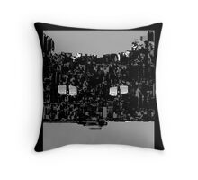He watches the night Throw Pillow