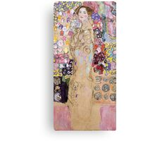 Gustav Klimt - Portrait of Ria Munk  Canvas Print