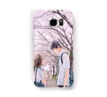 Love under the Sakura trees Samsung Galaxy Case/Skin