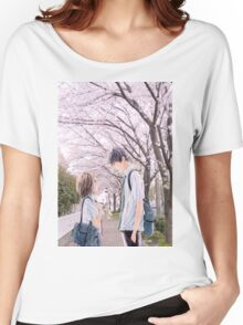Love under the Sakura trees Women's Relaxed Fit T-Shirt