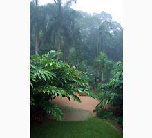 Tropical Rain & Garden Flood Waters  Womens Fitted T-Shirt