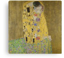 Gustav Klimt - The Kiss  Canvas Print