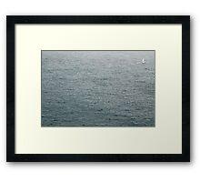 Lost sailor Framed Print