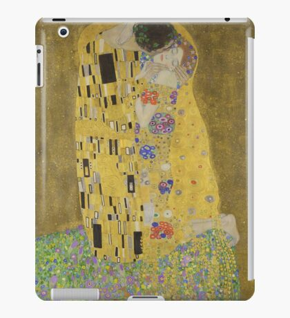 Gustav Klimt - The Kiss  iPad Case/Skin