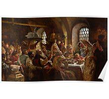 Konstantin Makovsky - A Boyar Wedding Feast 1883 Poster