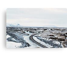 Near Mývatn Canvas Print