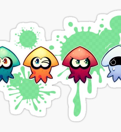 One of these things is not like the other SPLAT Sticker