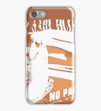 No sahid Hulu No Party  iPhone Case/Skin