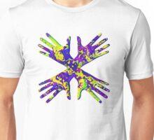 #DeepDream Painter's gloves 5x5K v1456325888 Unisex T-Shirt