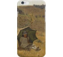 Lawrence Alma-Tadema - Sunny Days 1874 , American Impressionism  iPhone Case/Skin