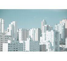 Sao Paulo skyline Photographic Print