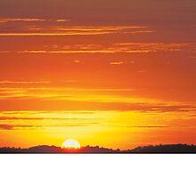 Sunrise Over Ngorogoro Crater by TAShaw