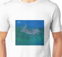 Hare leaping Unisex T-Shirt