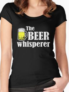 The Beer Whisperer Women's Fitted Scoop T-Shirt