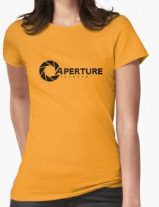 Portal Aperture Womens Fitted T-Shirt
