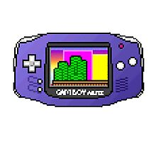 game boy advance Photographic Print