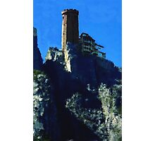 Castle on the rock Photographic Print