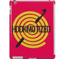 Spiral ball of yarn crochet hook hookmotized iPad Case/Skin