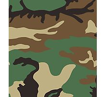 Camouflage Photographic Print