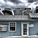 Boathouses by Brendan Buckley