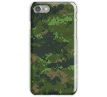 Digital Green Camouflage iPhone Case/Skin
