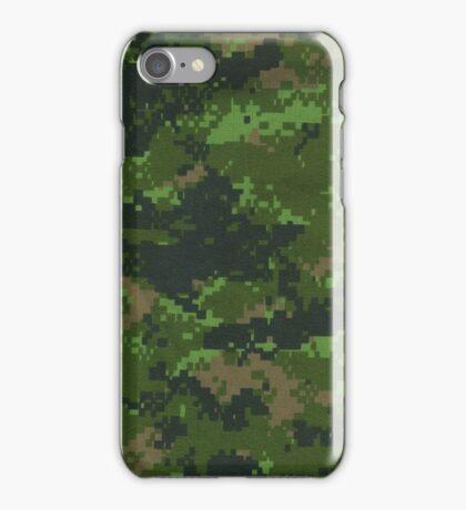 Digital Green Camouflage iPhone Case/Skin