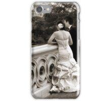 Bow Bridge Wedding iPhone Case/Skin