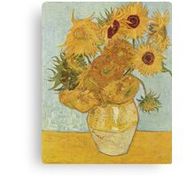 Van Gogh Yellow Sunflowers Canvas Print