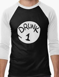 Drunk 1 Men's Baseball ¾ T-Shirt