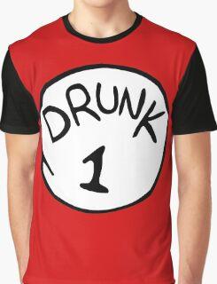 Drunk 1 Graphic T-Shirt