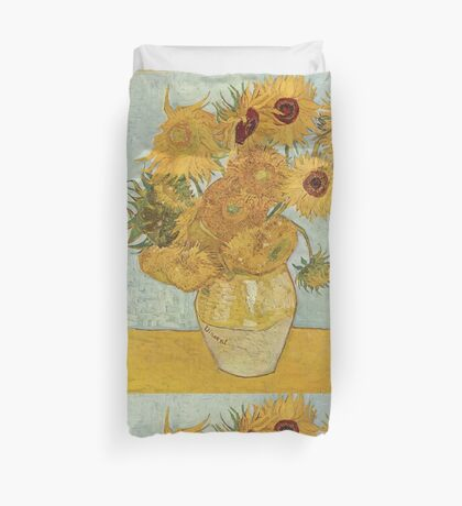 Van Gogh Yellow Sunflowers Duvet Cover