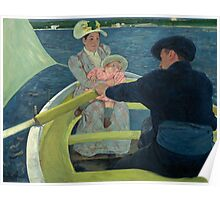 Mary Cassatt - The Boating Party 1893 - 1894 Poster