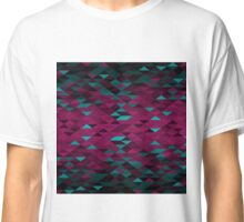 Triangle Glimmer (Magenta and Cyan) Classic T-Shirt