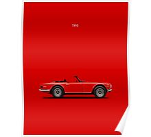 The TR6 Poster