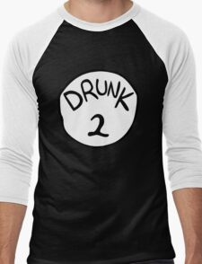 Drunk 2 Men's Baseball ¾ T-Shirt