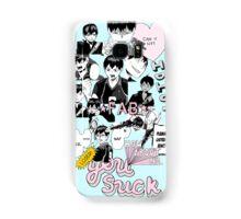 ♥♥♥ HAIKYUU!! KAGEYAMA TOBIO COLLAGE TUMBLR PASTEL ♥♥♥ Samsung Galaxy Case/Skin