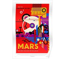 Mars - NASA/JPL Travel Poster Poster