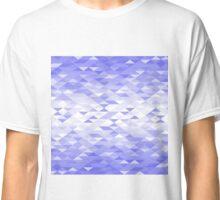 Triangle Glimmer (Blue) Classic T-Shirt