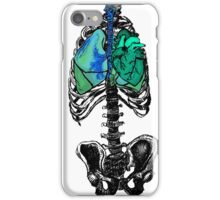 Pop Art Skeleton Torso iPhone Case/Skin