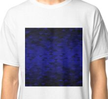 Triangle Glimmer (Dark Blue) Classic T-Shirt