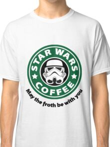 May the froth be with you - Coffee Star Classic T-Shirt
