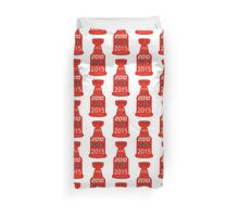 Chicago Blackhawks Stanley Cup Years Duvet Cover