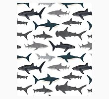 Sharks, illustration, art print ,ocean life,sea life ,animal ,marine biologist ,kids ,boys, gender neutral ,educational ,Andrea Lauren , shark week, shark, great white shark,  Classic T-Shirt