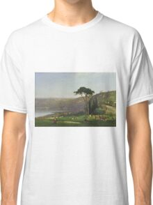 Maurice Prendergast - Lake Albano 1869 , American Impressionism  Classic T-Shirt