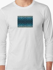 Abstract design _blue edition Long Sleeve T-Shirt