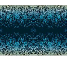 Abstract design _blue edition Photographic Print