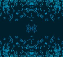 Abstract design _blue edition Sticker