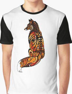 Red Fox Graphic T-Shirt